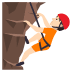 🧗🏻 person climbing: light skin tone Emoji on Joypixels Platform