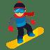🏂 snowboarder Emoji on Joypixels Platform