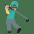 🏌️♂️ man golfing Emoji on Joypixels Platform