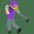 🏌🏼♀️ Medium Light Skin Tone Woman Golfing Emoji on JoyPixels Platform
