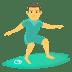 🏄♂️ man surfing Emoji on Joypixels Platform