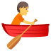 🚣 person rowing boat Emoji on Joypixels Platform