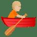 🚣🏼 person rowing boat: medium-light skin tone Emoji on Joypixels Platform