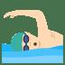🏊🏻♂️ Light Skin Tone Man Swimming Emoji on JoyPixels Platform
