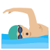 🏊🏼‍♂️ man swimming: medium-light skin tone Emoji on Joypixels Platform