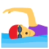 🏊‍♀️ woman swimming Emoji on Joypixels Platform