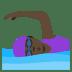 🏊🏿♀️ woman swimming: dark skin tone Emoji on Joypixels Platform
