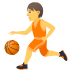 ⛹️ person bouncing ball Emoji on Joypixels Platform
