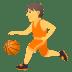 ⛹️ Person Bouncing Ball Emoji on JoyPixels Platform