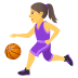 ⛹️‍♀️ woman bouncing ball Emoji on Joypixels Platform