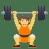 🏋️ Person Lifting Weights Emoji on JoyPixels Platform