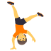 🤸 person cartwheeling Emoji on Joypixels Platform