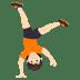 🤸🏻 person cartwheeling: light skin tone Emoji on Joypixels Platform