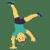 🤸♂️ man cartwheeling Emoji on Joypixels Platform