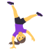 🤸♀️ woman cartwheeling Emoji on Joypixels Platform