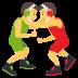 🤼♂️ Men Wrestling Emoji on JoyPixels Platform