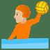 🤽🏼 person playing water polo: medium-light skin tone Emoji on Joypixels Platform