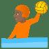 🤽🏾 person playing water polo: medium-dark skin tone Emoji on Joypixels Platform