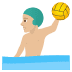 🤽🏼‍♂️ man playing water polo: medium-light skin tone Emoji on Joypixels Platform