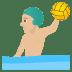 🤽🏼♂️ man playing water polo: medium-light skin tone Emoji on Joypixels Platform