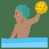 🤽🏽♂️ man playing water polo: medium skin tone Emoji on Joypixels Platform