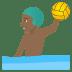 🤽🏾♂️ man playing water polo: medium-dark skin tone Emoji on Joypixels Platform