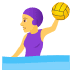 🤽‍♀️ Woman Playing Water Polo Emoji on JoyPixels Platform