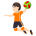 🤾🏻 person playing handball: light skin tone Emoji on Joypixels Platform