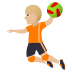 🤾🏼 person playing handball: medium-light skin tone Emoji on Joypixels Platform
