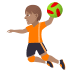 🤾🏽 person playing handball: medium skin tone Emoji on Joypixels Platform