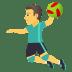 🤾♂️ man playing handball Emoji on Joypixels Platform