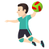 🤾🏻♂️ man playing handball: light skin tone Emoji on Joypixels Platform