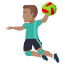 🤾🏽‍♂️ man playing handball: medium skin tone Emoji on Joypixels Platform