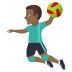 🤾🏾‍♂️ man playing handball: medium-dark skin tone Emoji on Joypixels Platform