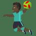 🤾🏿♂️ man playing handball: dark skin tone Emoji on Joypixels Platform