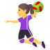 🤾♀️ woman playing handball Emoji on Joypixels Platform