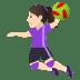 🤾🏻♀️ woman playing handball: light skin tone Emoji on Joypixels Platform