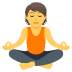 🧘 person in lotus position Emoji on Joypixels Platform
