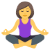 🧘♀️ Woman In Lotus Position Emoji on JoyPixels Platform