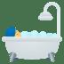 🛀 person taking bath Emoji on Joypixels Platform