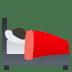 🛌🏿 Dark Skin Tone Person In Bed Emoji on JoyPixels Platform