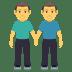 👬 Men Holding Hands Emoji on JoyPixels Platform