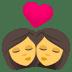 👩❤️💋👩 kiss: woman, woman Emoji on Joypixels Platform