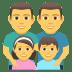 👨👨👧👦 family: man, man, girl, boy Emoji on Joypixels Platform