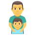 👨‍👦 family: man, boy Emoji on Joypixels Platform