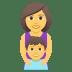 👩👦 family: woman, boy Emoji on Joypixels Platform