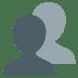 👥 Busts In Silhouette Emoji on JoyPixels Platform