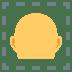 🦲 Bald Emoji on JoyPixels Platform