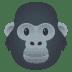 🦍 gorilla Emoji on Joypixels Platform