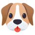 🐶 dog face Emoji on Joypixels Platform